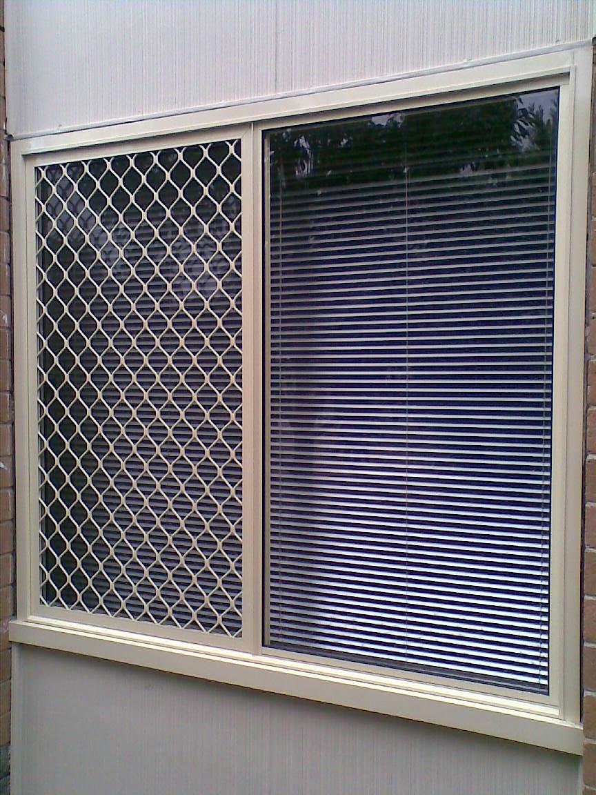 Aluminum Window Protection : Aluminium sliding window with security screen the man