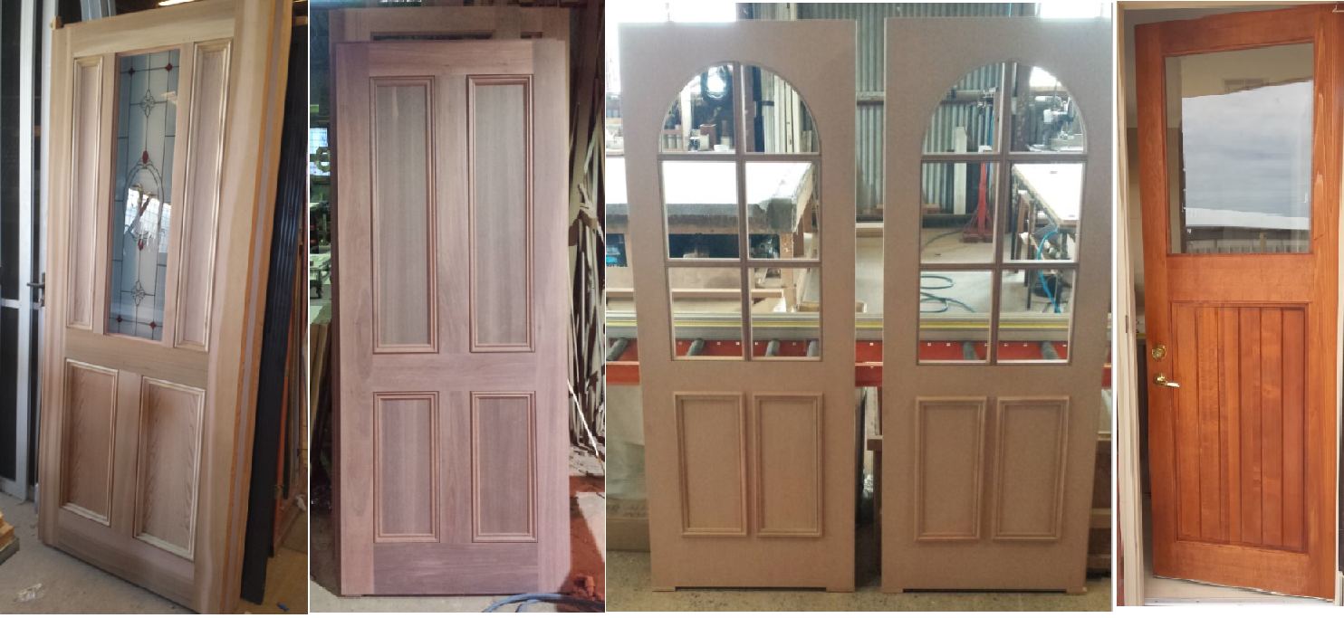 The Window Man Makes The Highest Quality Timber Doors. We Make Doors Based  On Our Clients Requirements; We Donu0027t Work With Set Sizes  But Any Size Or  Shape ...