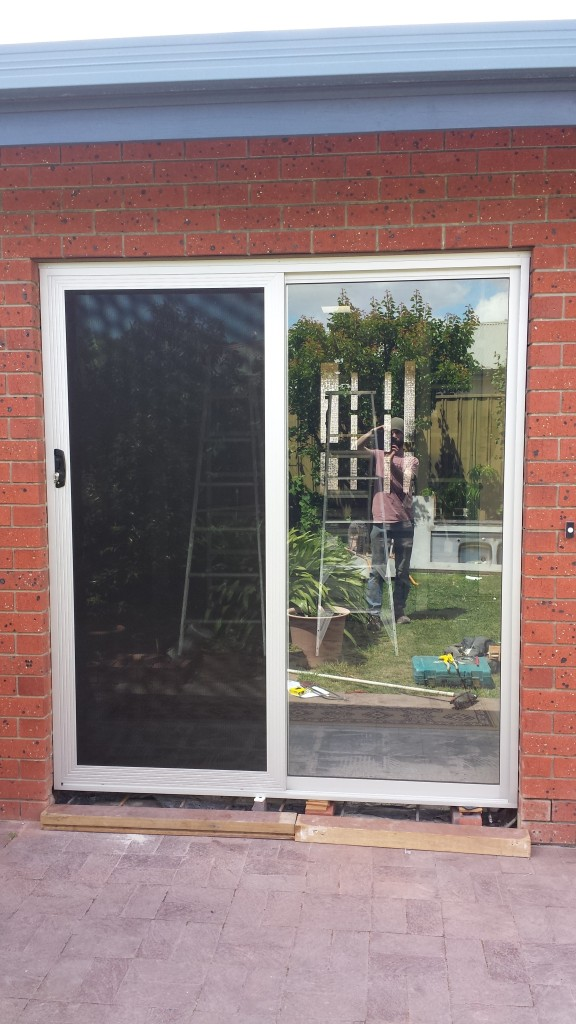 CLEARSHIELD stainless steel sec. door.