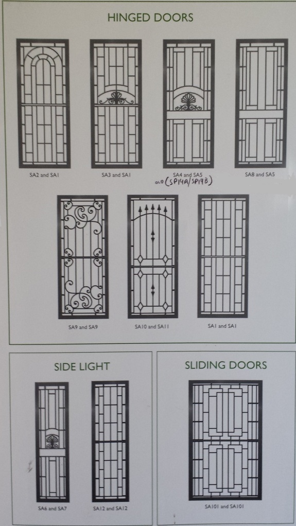 Decorative Grille styles.