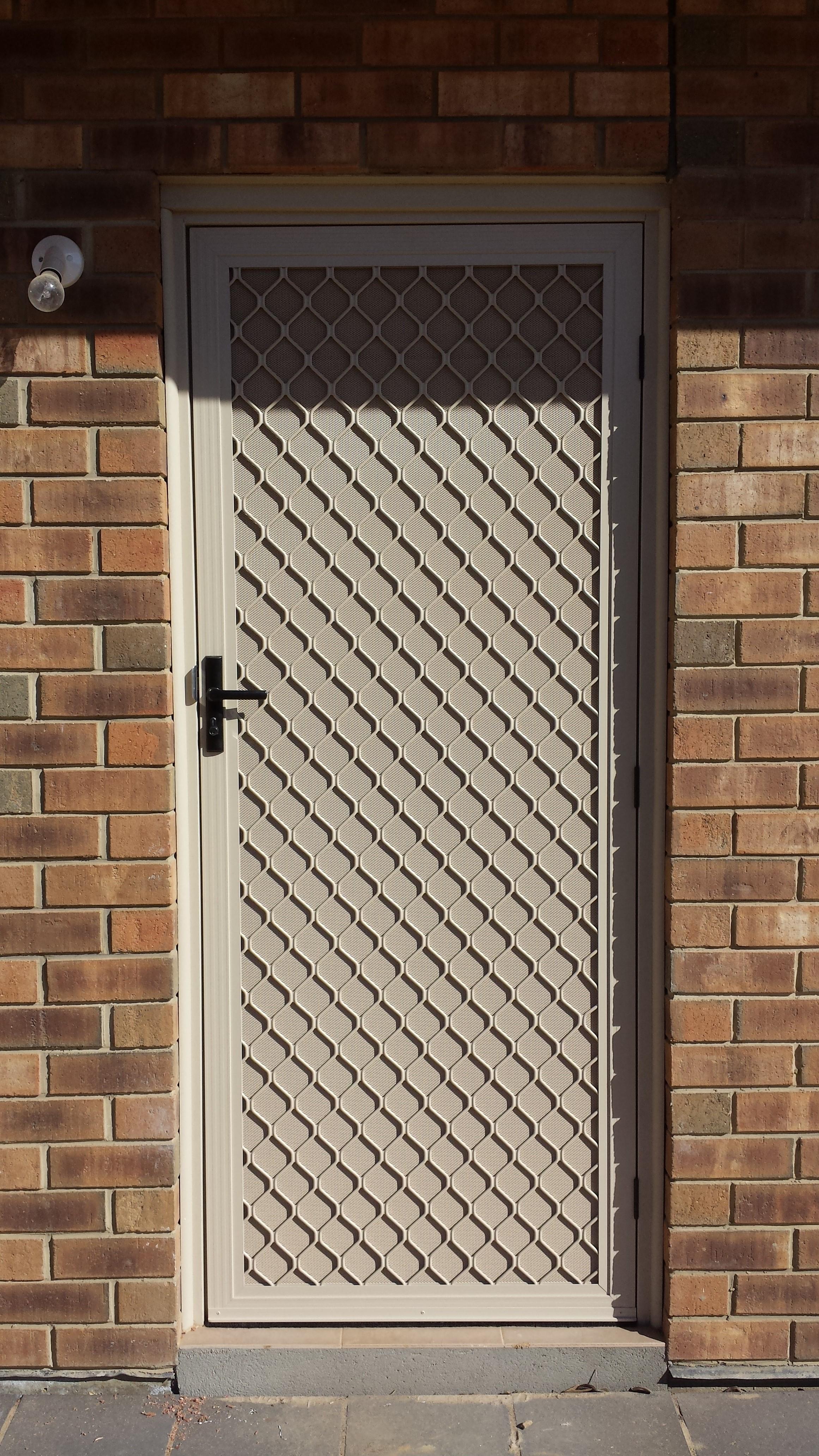 Security Doors The Window Man