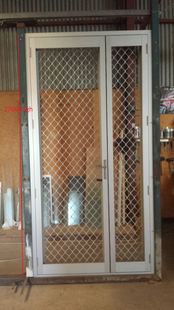 Recent work the window man for Security screen doors for french doors