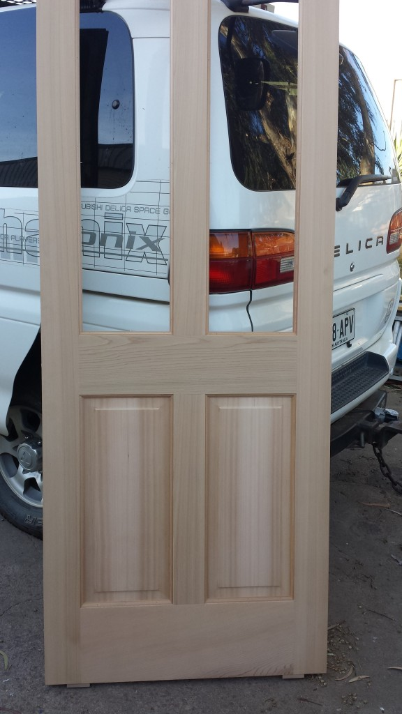 WRC door with fielded panels.