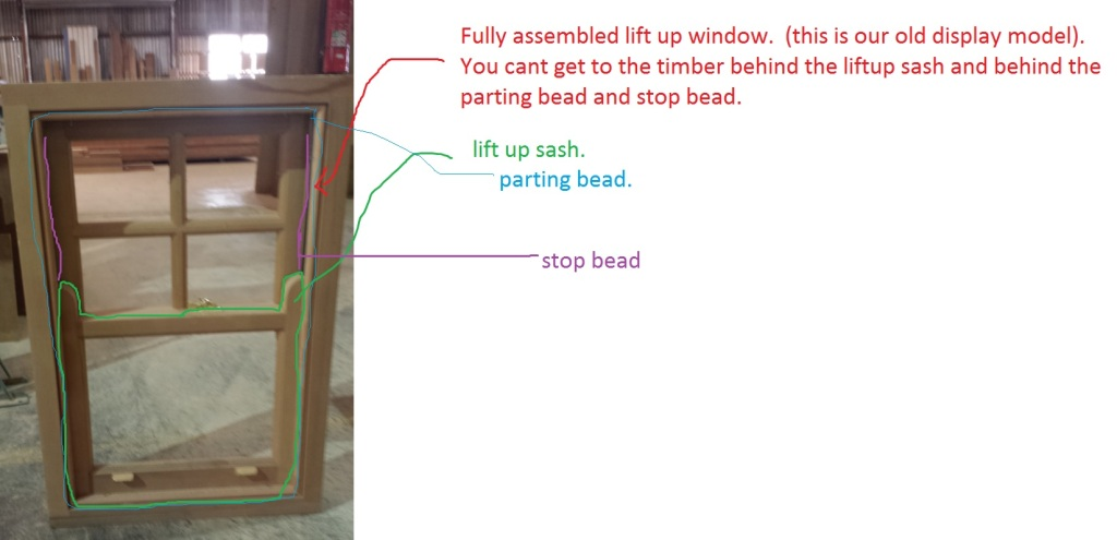assembled sash