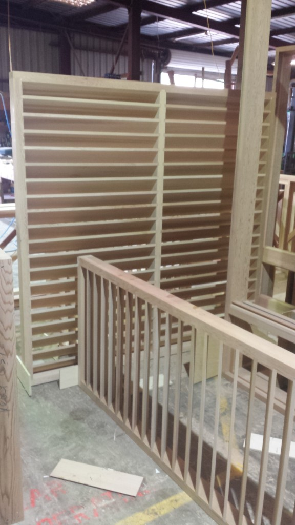 Fixed Timber Louvres
