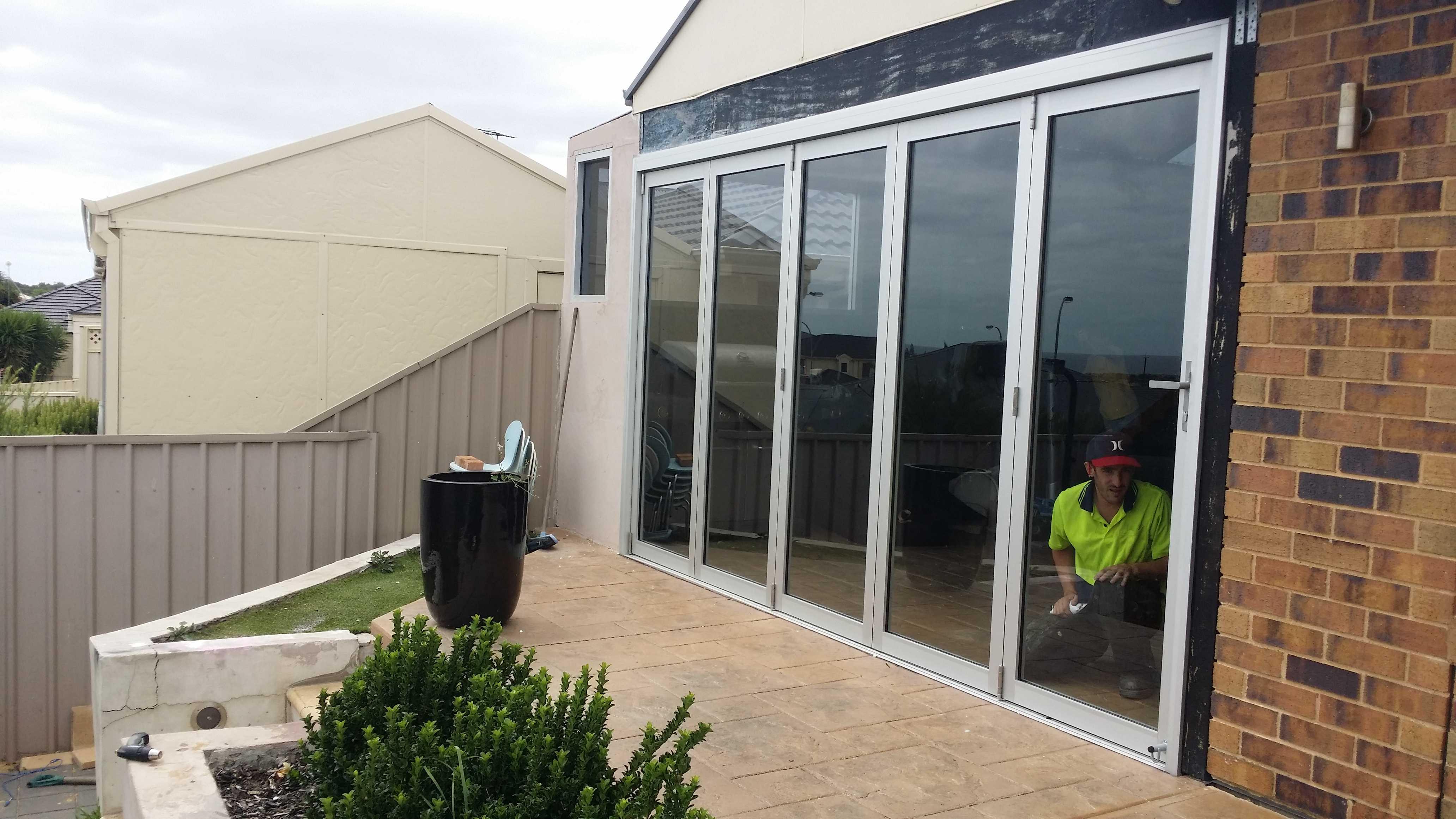Bifold install – THE WINDOW MAN