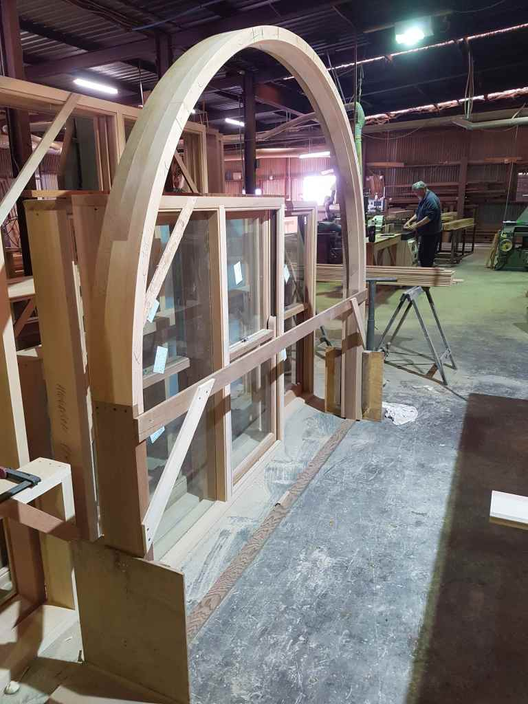 Arched Frames And Random Work The Window Man